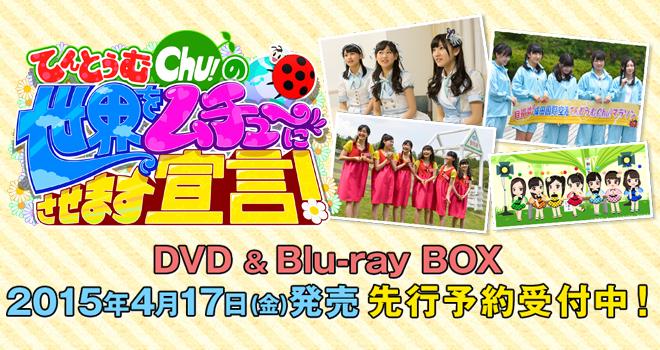 「てんとうむChu!」DVD