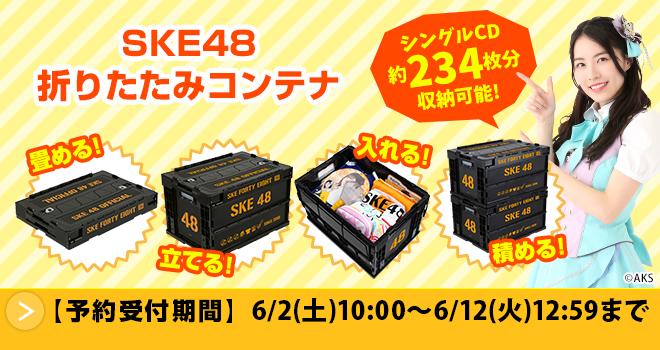 SKE48 折りたたみコンテナ