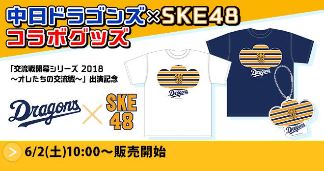 中日ドラゴンズ×SKE48 コラボグッズ