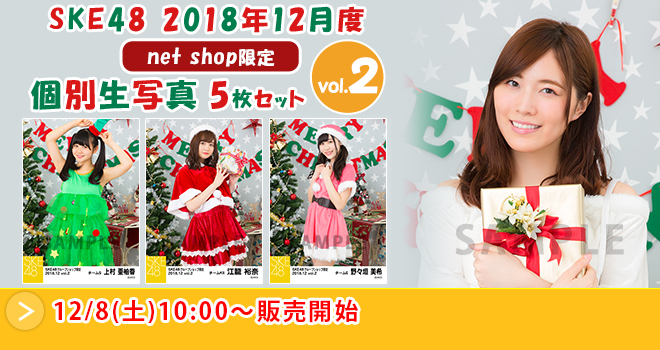 SKE48 2018年12月度 net shop限定個別生写真5枚セットvol.2(03)