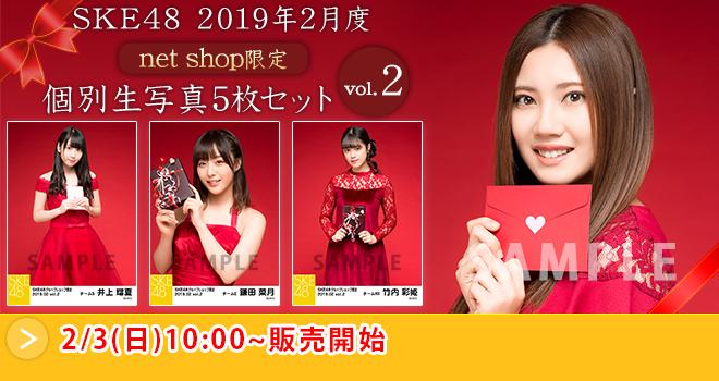 SKE48 2019年2月度 net shop限定個別生写真5枚セットvol.2(03)
