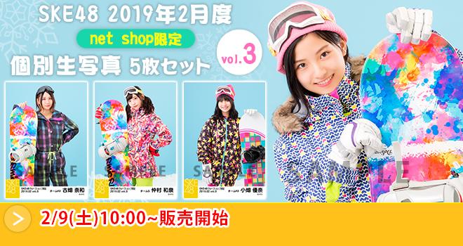 SKE48 2019年2月度 net shop限定個別生写真5枚セットvol.3(04)