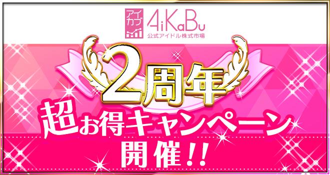 AIKABU2周年キャンペーン