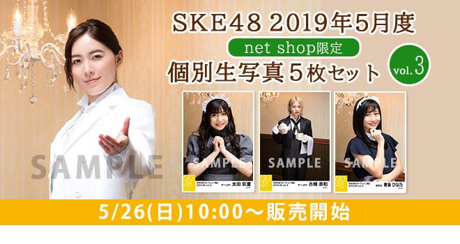 SKE48 2019年5月度 net shop限定個別生写真5枚セットvol.3(04)