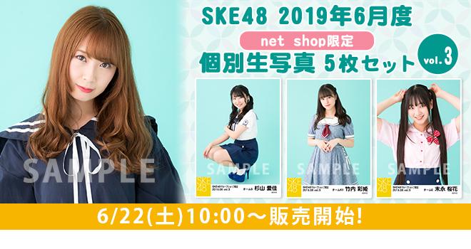SKE48 2019年6月度 net shop限定個別生写真5枚セットvol.3(01)